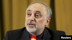 ທ່ານ Ali Akbar Salehi ລັດຖະມົນຕີຕ່າງປະເທດອີຣ່ານ. ວັນທີ 28 ມີນາ 2012.