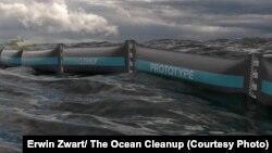 Océan Cleanup a dévoilé son premier prototype