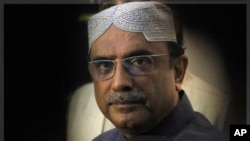 Pakistan's President Asif Ali Zardari traveled to Dubai for medical tests on his heart after falling ill, officials and associates said describing his condition as not life-threatening, (File).