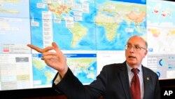 Ông Jay Butler, phó giám đốc Trung tâm Kiểm soát và Phòng ngừa Dịch bệnh Mỹ (CDC).