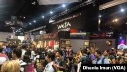 Warga dunia padati ajang tahunan Comic-Con 2019 di San Diego, Califonir (Foto: VOA)