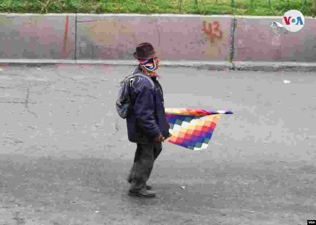 Sobre los enfrentamientos en Bolivia que llevan un poco más de tres semanas, aún no hay cifras exactas de las víctimas debido a la falta de información y versiones incompletas.