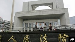 Hefei City Intermediate People's Court, Aug. 8, 2012, where the murder trial of Gu Kailai, wife of ousted Chinese politician Bo Xilai, will start Thursday.