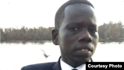 Manyok Lual, who works at South Sudan's embassy in Washington, says the embassy owes him more than a year's worth of back pay.
