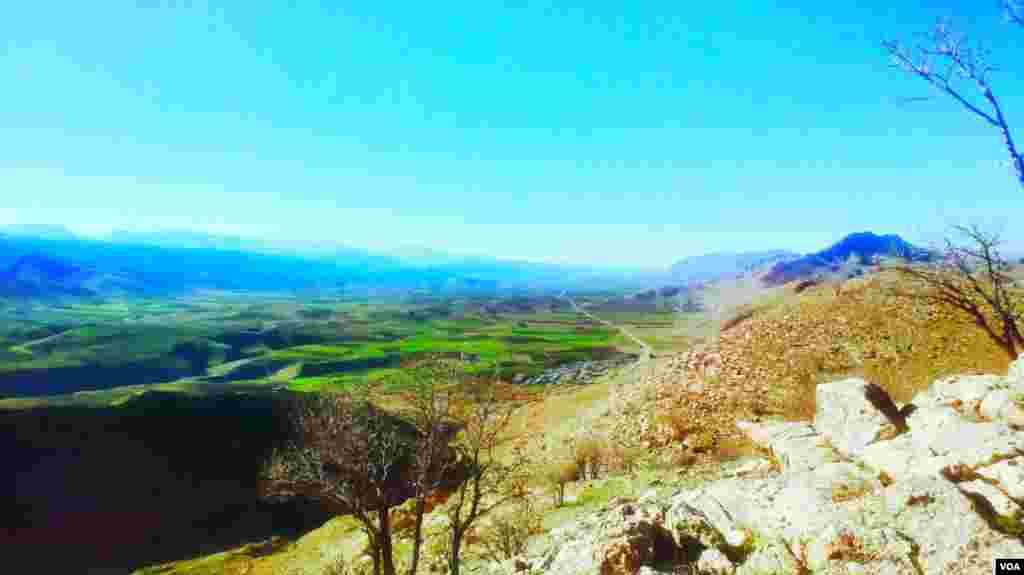 روستای آفتاب در ایلام عکس: پوریا (ارسالی شما)