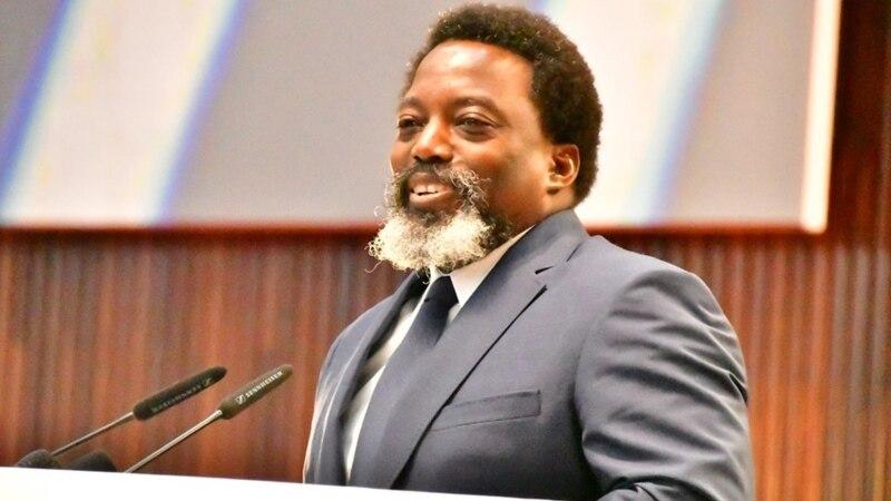 """Joseph Kabila réclame le """"début effectif"""" d'un retrait des Casques bleus"""