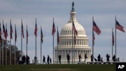 美國國會大廈。 (2020年3月15日)