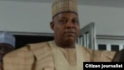 Gwamnan Borno Ibrahim Shettima