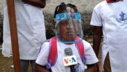 aluna do pre escolar na escola missionaria