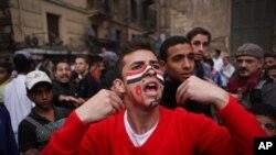 타흐리르 광장에 집결한 시위대