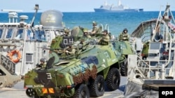 Військові навчання НАТО у Польщі. Устка, червень 2015 року