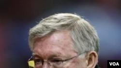 Manajer Manchester United Alex Ferguson