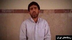 تصویری از فیلم اعترافات افراد بازداشت شده که تلویزیون ایران پخش کرد.