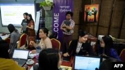 ၂၀၂၀ ေဖေဖာ္၀ါရီလတုန္းက Gender Equality Network က က်င္းပတဲ့ အမ်ိဳးသမီးအခြင့္အေရး သင္တန္းတခု