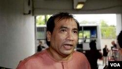 Joe Gordon, keturunan Thailand yang lahir di Amerika terancam dipenjara 15 tahun terkait tuduhan pencemaran nama baik keluarga kerajaan Thailand (10/10).