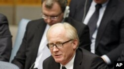 Kai Eide, Special Representative of the Secretary-General for Afghanistan and Head of the United Nations Assistance Mission in Afghanistan (UNAMA), briefs the Security Council on the situation in Afghanistan, 06 Jan 2010