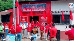 El Partido Liberal Constitucionalista de Nicaragua en su primer mítin político de la campaña de 2021. Foto cortesía.