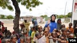 Deputat Qənirə Paşayeva Somalidə