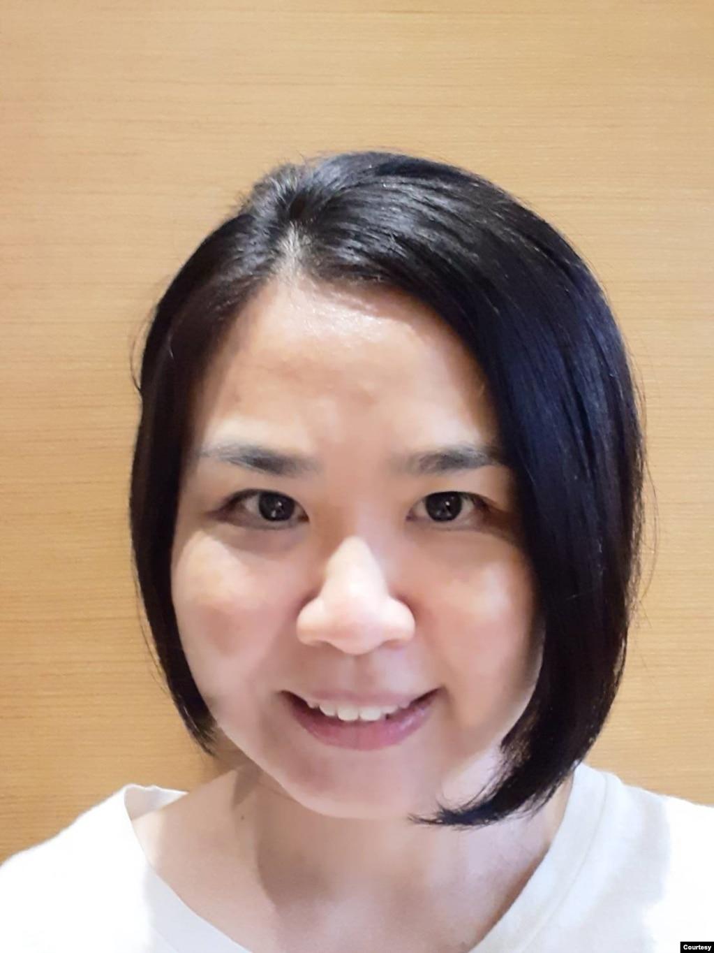 台湾亚太防务研究中心研究员黄惠华。(黄惠华提供)(photo:VOA)