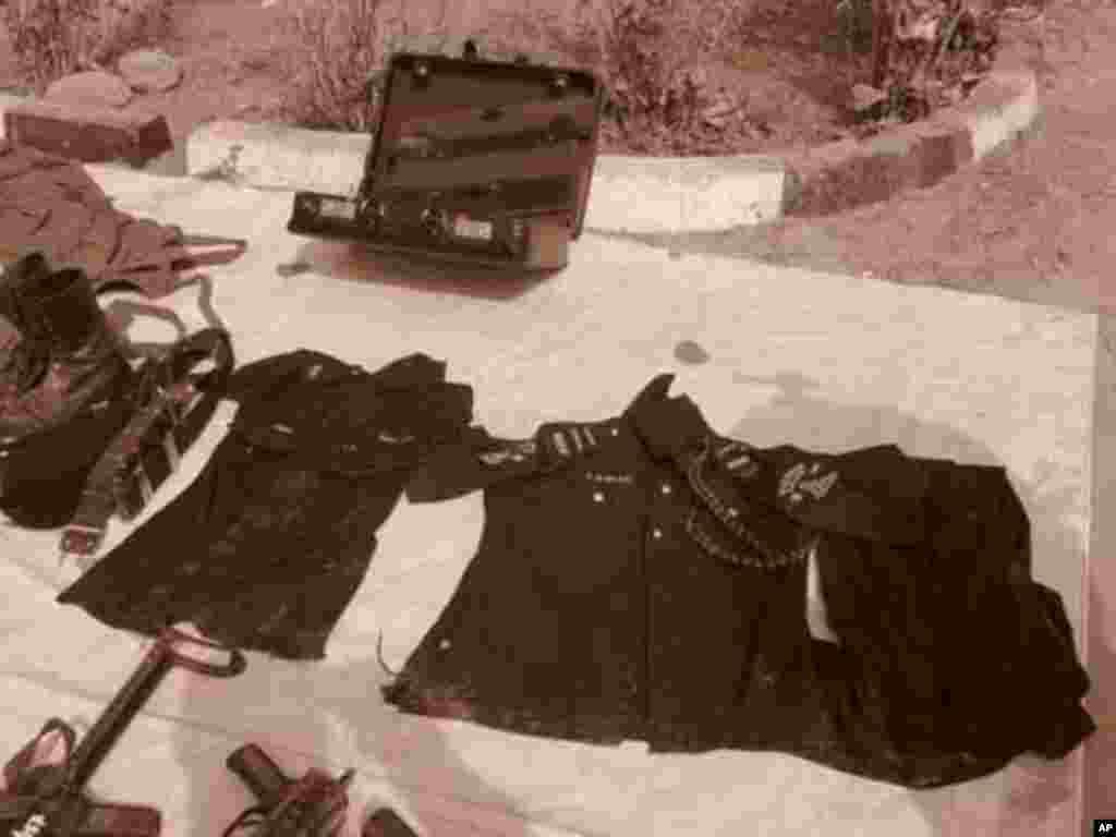 Hotunan wani wurin da kungiyar Boko Haram ke harhada boma bomai a Mariri Quarters dake karamar hukumar Kumbotso, jihar Kano.