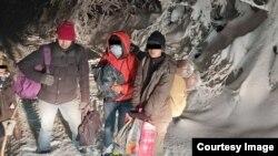 Spašavanje migranata na planini Plješevica kod Bihaća