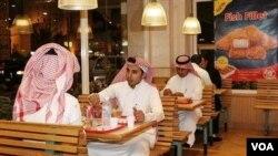 Bangaren cin abincin maza a kasar Saudiyya