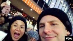 Sita selfie dengan Bradley Cooper di New York