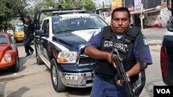 Polisye nan Meksik (foto achiv)