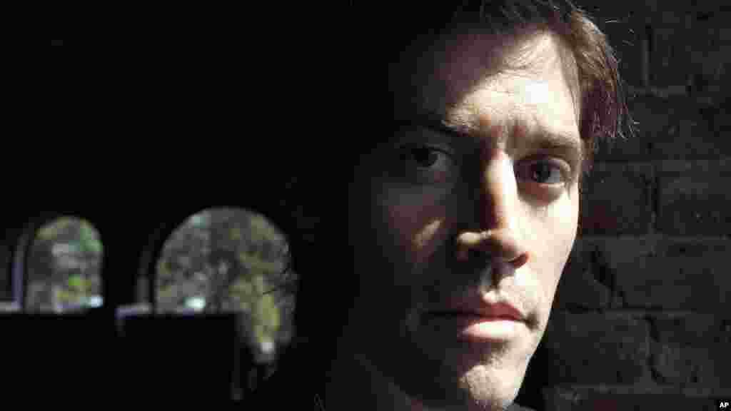 Američki novinar Džejms Foli. Portret snimljen u Ročesteru u državi Nju Hempšir, 27. maja, 2011.