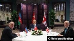 Azərbaycan, Türkiyə və Gürcüstan xarici işlər nazirləri görüşüb
