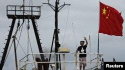 Tàu đánh cá Khải Phong 2 cập cảng Hong Kong, ngày 22/8/2012