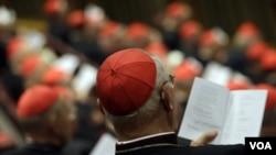 El arzobispo de Washington, D.C., Donald W. Wuerl, también asistió al Vaticano.