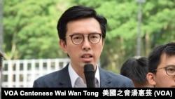 社民連主席吳文遠 (攝影:美國之音湯惠芸)