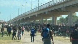 上萬移民被困在德克薩斯州邊界橋下