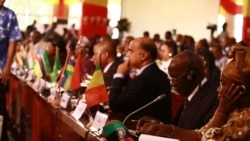 Delegates at the opening ceremony of the ADEA Triennial conference in Ouagadougou