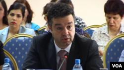 Enno Bozdo, albanian deputy minister of economy