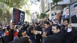 رسانه های دولتی سوريه: اوباش و اراذل قصد خرابکاری داشتند