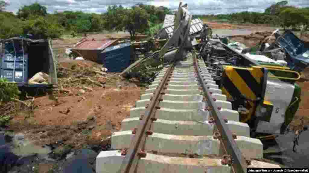 Caminho de ferro Cuamba Nampula, Moçambique, Jan 15, 2015