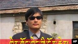 ນາຍ Chen Guangcheng ນັກເຄຶ່ອນໄຫວຕາບອດຊາວຈີນ