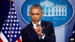 Le président américain Barack Obama, 23 juin 2016.