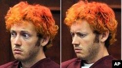 23일 콜로라도주 센티니얼의 법정에 출두한 총기난사 사건 용의자 제임스 홈스.