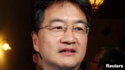FILE - US Ambassador to Malaysia Joseph Yun.