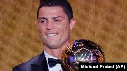 Ronaldo vencedor da Bola de Ouro 2013