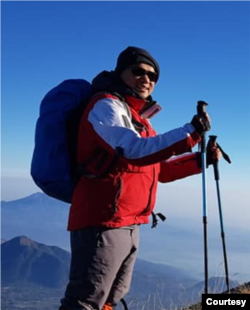 Kiki Taufik, Kepala Kampanye Hutan Global Greenpeace Asia Tenggara. (Foto: Courtesy/Dokumen Pribadi)
