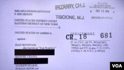 """Caso """"dívidas ocultas"""", acusação da procuradoria da Nova Iorque"""