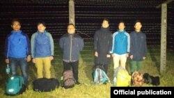 Azərbaycanın dövlət sərhədini pozmağa cəhd edən 6 Nepal vətədaşı saxlanılıb