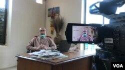د بلوچستان یونین آف جرنلسټس مشر ایوب ترین چې کرونا وایرس ور پورې شوی.