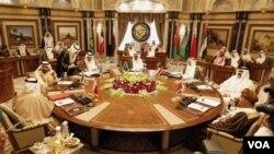 Pertemuan perwakilan negara-negara Dewan Kerjasama Teluk (foto: dok).