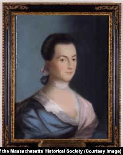 Abigail Adams, Portrait by Benjamin Blyth, Circa 1766