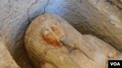 Une momie égyptienne.